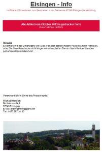 Eisingen-Info-10-2013